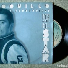 Discos de vinilo: LOQUILLO Y TROGLODITAS.ROCK AND ROLL STAR...PROMO...EX. Lote 71606043