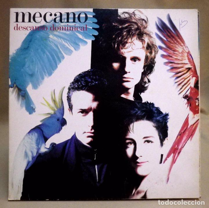 DISCO LP, VINILO, MECANO, DESCANSO DOMINICAL, ARIOLA, 5F 209192, 1988 (Música - Discos - LP Vinilo - Grupos Españoles de los 70 y 80)