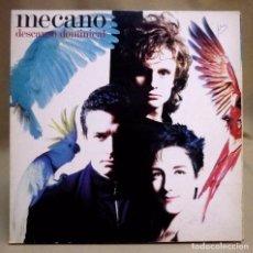 Discos de vinilo: DISCO LP, VINILO, MECANO, DESCANSO DOMINICAL, ARIOLA, 5F 209192, 1988. Lote 71620023