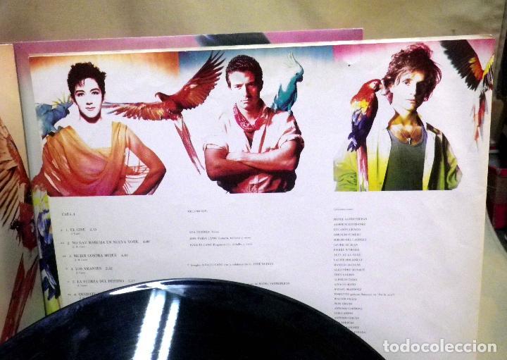 Discos de vinilo: DISCO LP, VINILO, MECANO, DESCANSO DOMINICAL, ARIOLA, 5F 209192, 1988 - Foto 5 - 71620023