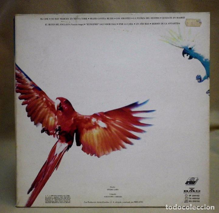 Discos de vinilo: DISCO LP, VINILO, MECANO, DESCANSO DOMINICAL, ARIOLA, 5F 209192, 1988 - Foto 6 - 71620023