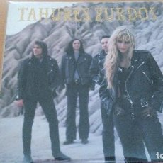 Discos de vinilo: TAHURES ZURDOS NIEVE NEGRA LP 1991 INSERTO. Lote 71625587