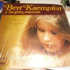 Discos de vinilo: TRAST DISCO LP BERT KAEMPFERT Y SU GRAN ORQUESTA HUELLAS . Lote 71627439