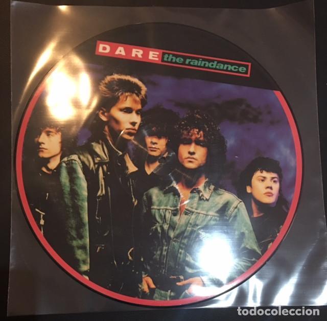 MAXI LP VINILO DISCO DARE THE RAINDANCE (Música - Discos de Vinilo - Maxi Singles - Pop - Rock - New Wave Internacional de los 80)