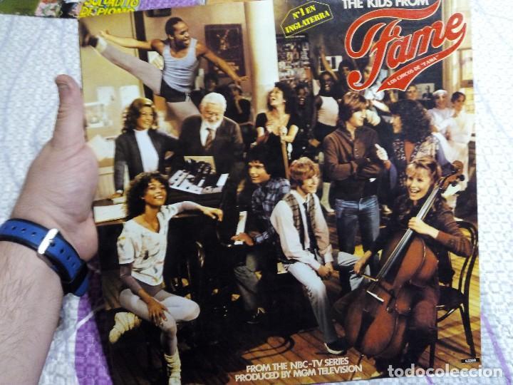 LP DE SERIE TELEVISIVA FAMA (Música - Discos - LP Vinilo - Bandas Sonoras y Música de Actores )