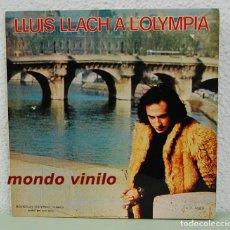 Discos de vinilo: LLUIS LLACH A L'OLYMPIA. MOVIEPLAY 1973. LP. Lote 71639363