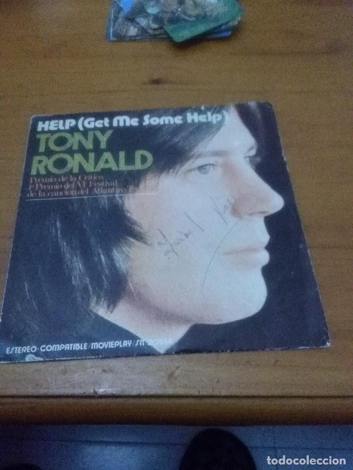 TONY RONALD. HELP ME SOME HELP. MB2 (Música - Discos - Singles Vinilo - Otros estilos)