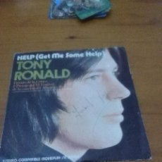 Discos de vinilo: TONY RONALD. HELP ME SOME HELP. MB2. Lote 71640511