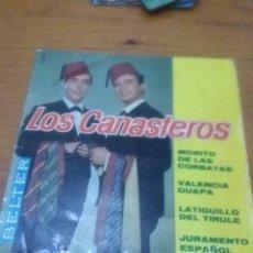 Discos de vinilo: LOS CANASTEROS. MORITO DE LAS CORBATAS. MB2. Lote 71641031