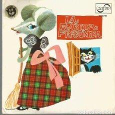 Discos de vinilo: LA RATITA PRESUMIDA (CUENTO) EP SELLO ZAFIRO EDITADO EN ESPAÑA AÑO 1967 VINILO ROJO . Lote 71644899