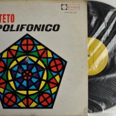 Discos de vinilo: LP DE QINTETO POLIFÓNICO, RONDE DE VENEZUELA LPRN-38067. Lote 71646611