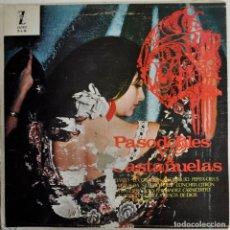 Discos de vinilo: LP PASODOBLES Y CASTAÑUELAS. ZAFIRO ZL-10. Lote 71646875