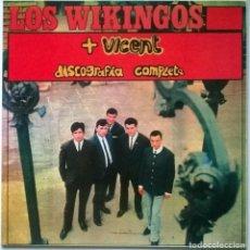Discos de vinilo: LOS WIKINGOS + VICENT. DISCOGRAFÍA COMPLETA. COCODRILO, SPAIN 1989 LP. Lote 71650127