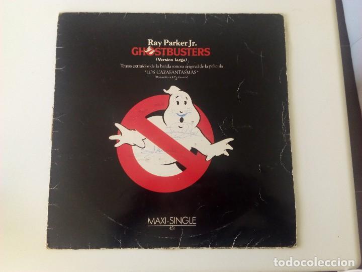 GHOSTBUSTERS. MAXI SINGLE. ESPAÑA. ARISTA.1984 (Música - Discos de Vinilo - Maxi Singles - Bandas Sonoras y Actores)