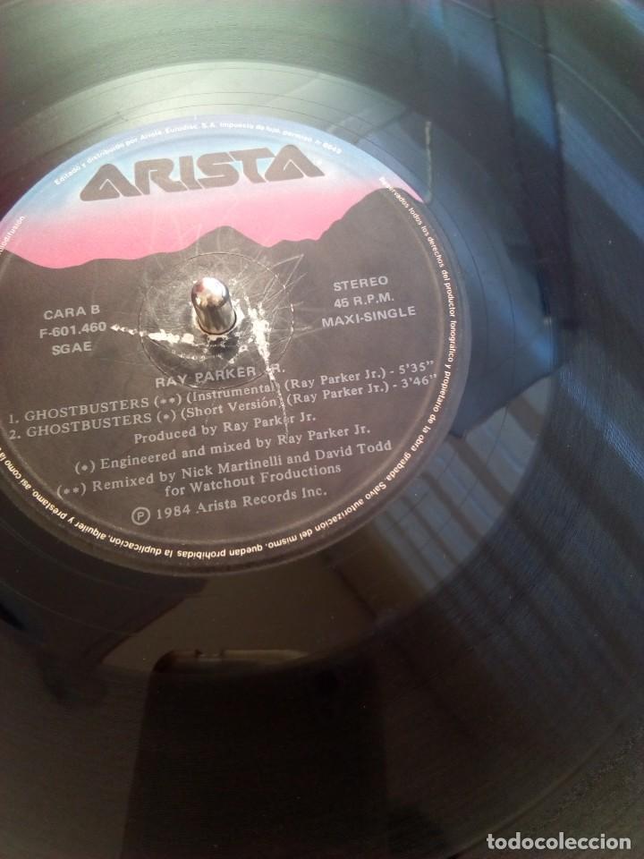 Discos de vinilo: GHOSTBUSTERS. Maxi single. España. Arista.1984 - Foto 3 - 71661327