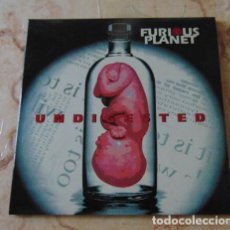 Discos de vinilo: FURIOUS PLANET - UNDIGESTED - DOBLE 45 E.P.- EXPERIENCE RECORDS - 1994. Lote 71686143