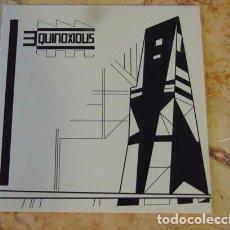 Discos de vinilo: EQUINOXIOUS – ASTROS PROMETIDOS - SINGLE EDICION NUMERADA VINILO BLANCO. Lote 71686679