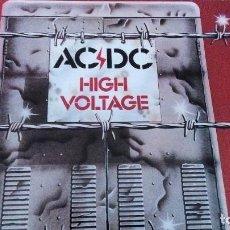 Discos de vinilo: AC/DC HIGH VOLTAGE LP VINILO ROJO. Lote 104326218