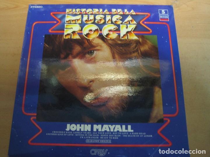 HISTORIA DE LA MÚSICA ROCK - NÚMERO 5 - JOHN MAYAL (Música - Discos de Vinilo - EPs - Rock & Roll)
