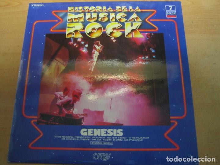 HISTORIA DE LA MÚSICA ROCK - NÚMERO 7 - GENESIS (Música - Discos de Vinilo - EPs - Rock & Roll)