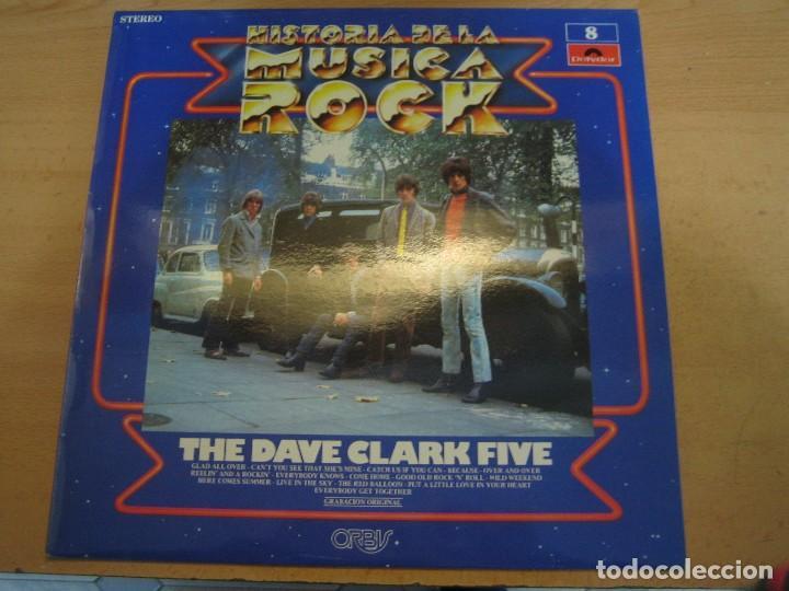 HISTORIA DE LA MÚSICA ROCK - NÚMERO 8 - THE DAVE CLARK FIVE (Música - Discos de Vinilo - EPs - Rock & Roll)