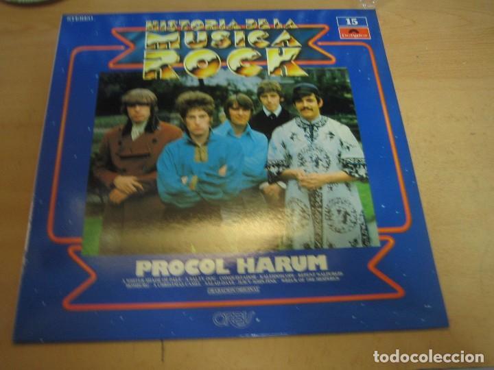HISTORIA DE LA MÚSICA ROCK - NÚMERO 15 - PROCOL HARUM (Música - Discos de Vinilo - EPs - Rock & Roll)