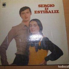 Discos de vinilo: SERGIO Y ESTIBALIZ. Lote 71704127