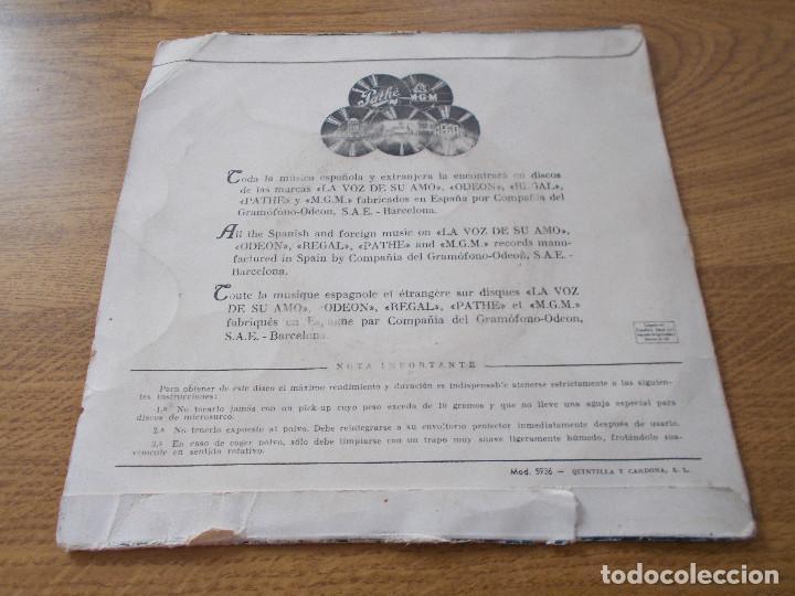 Discos de vinilo: FRANCO RICCI. III FESTIVAL DE LA CANCION NAPOLITANA 1955, ESTRELLA DE NAPOLES, E LLAMPARE. - Foto 3 - 71711415