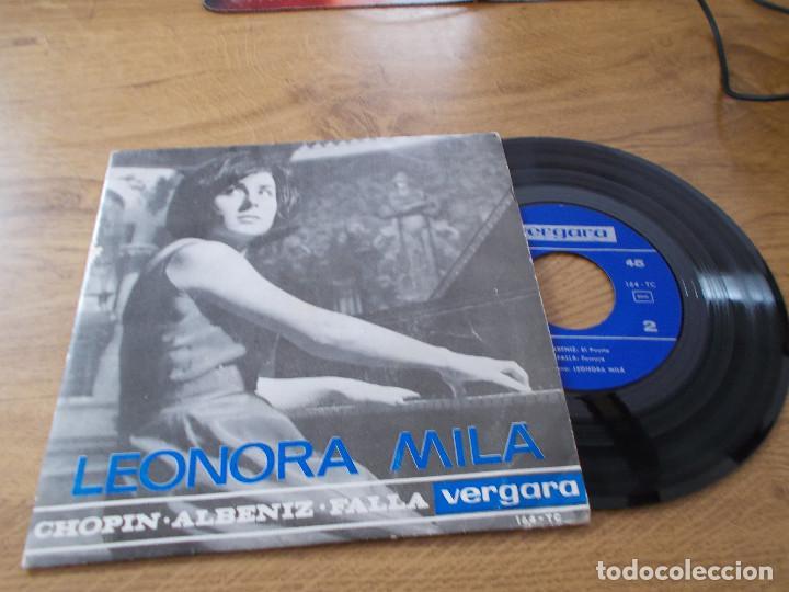 LEONORA MILÁ . EL PUERTO, FARRUCA, (Música - Discos de Vinilo - EPs - Clásica, Ópera, Zarzuela y Marchas)