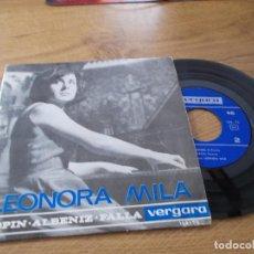 Discos de vinilo: LEONORA MILÁ . EL PUERTO, FARRUCA, . Lote 71712631