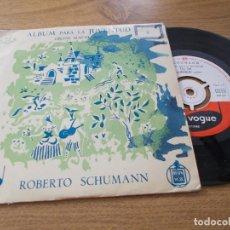 Discos de vinilo: SCHUMANN. ALBUM PARA LA JUVENTUD.. Lote 71712887
