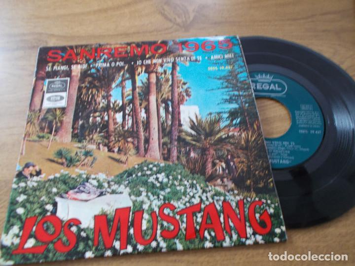 LOS MUSTANG, SAN REMO 1965 SANREMO (Música - Discos de Vinilo - EPs - Otros Festivales de la Canción)
