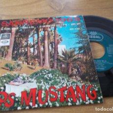 Discos de vinilo: LOS MUSTANG, SAN REMO 1965 SANREMO. Lote 71713895