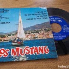 Discos de vinilo: LOS MUSTANG, XVI FESTIVAL DE SANREMO SAN REMO. Lote 71714059