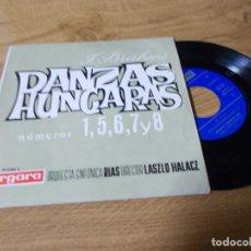 Discos de vinilo: JOHANNES BRAHMS. DANZAS HUNGARAS.. Lote 71729071