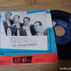 Discos de vinilo: LOS HUARACHEROS.TAHITI- NUI, FUÉ UNA EQUIVOCACION.LA GENTE DICEN QUE DICE, FUÉ UNA NOCHE EN HAWAI. Lote 71732879