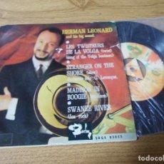 Discos de vinilo: HERMAN LEONARD. LES TWISTEURS DE LA VOLGA.. Lote 71733567