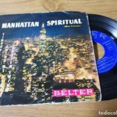 Discos de vinilo: MANHATTAN SPIRITUAL. REG OWEN Y SU ORQUESTA.. Lote 71733975
