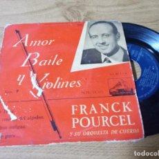 Discos de vinilo: FRANCK POURCEL. AMOR BAILE Y VIOLINES. Lote 71734115