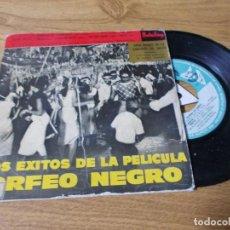 Discos de vinilo: LOS EXITOS DE LA PELICULA ORFEO NEGRO.. Lote 71734587