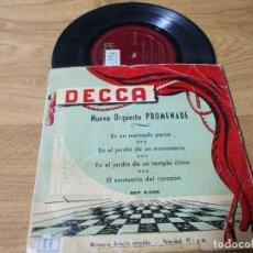Discos de vinilo: ORQUESTA PROMENADE. EN UN MERCADO PERSA, EN EL JARDIN DE UN MONASTERIO, EL SANTUARIO DEL CORAZON. Lote 71734819