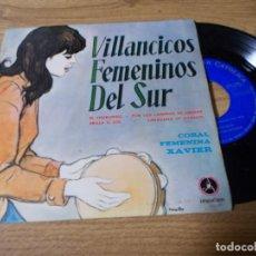 Discos de vinilo: . VILLANCICOS FEMENINOS DEL SUR.EL CHURUMBEL, POR LOS CAMINOS DE ORIENTE, BRILLA EL SOL, . Lote 71736439