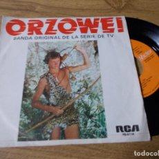 Discos de vinilo: ORZOWEI. BANDA ORIGINAL DE LA SERIE DE TELEVISION. .. Lote 71737943