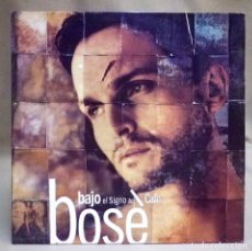 Discos de vinil: DISCO LP, VINILO, MIGUEL BOSE, BAJO EL SIGNO DE CAIN, WEA, LC 4281, 1993. Lote 198015325