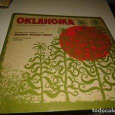 Discos de vinilo: TRAST BAL-2 DISCO 12 OKLAHOMA RODGERS Y HAMMERSTEIN. Lote 218391900