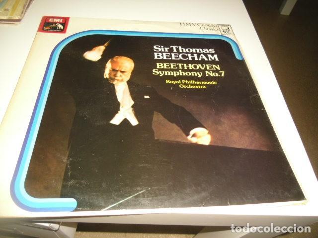 TRAST BAL-2 DISCO 12 SIR THOMAS BEECHAM BEETHOVEN SYMPHONY NO7 (Música - Discos - Singles Vinilo - Otros estilos)