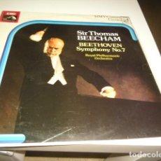 Disques de vinyle: TRAST BAL-2 DISCO 12 SIR THOMAS BEECHAM BEETHOVEN SYMPHONY NO7 . Lote 71780635