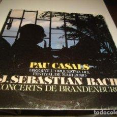 Discos de vinilo: TRAST BAL-2 DISCO 12 PAU CASALS DIRIGINT ORQUESTRA DEL FESTIVAL DE MARLBORO. Lote 218391923