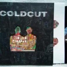 Discos de vinilo: COLDCUT - '' SOUND MIRRORS '' 2 LP. Lote 28391899