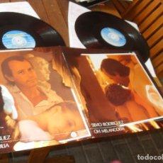 Discos de vinilo: SILVIO RODRIGUEZ LP MELANCOLIA MADE IN SPAIN 1988. Lote 71793463